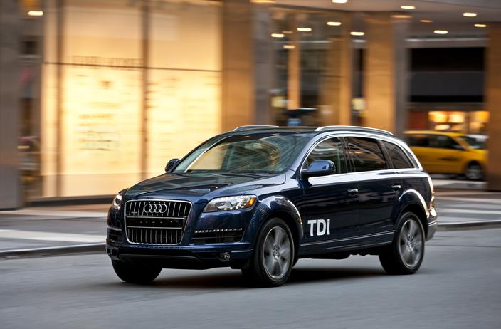 2013 audi q7 01 Audi Q7 Wins ALG Residual Value Award