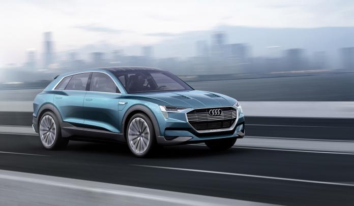 2015 Audi e-tron quattro Concept