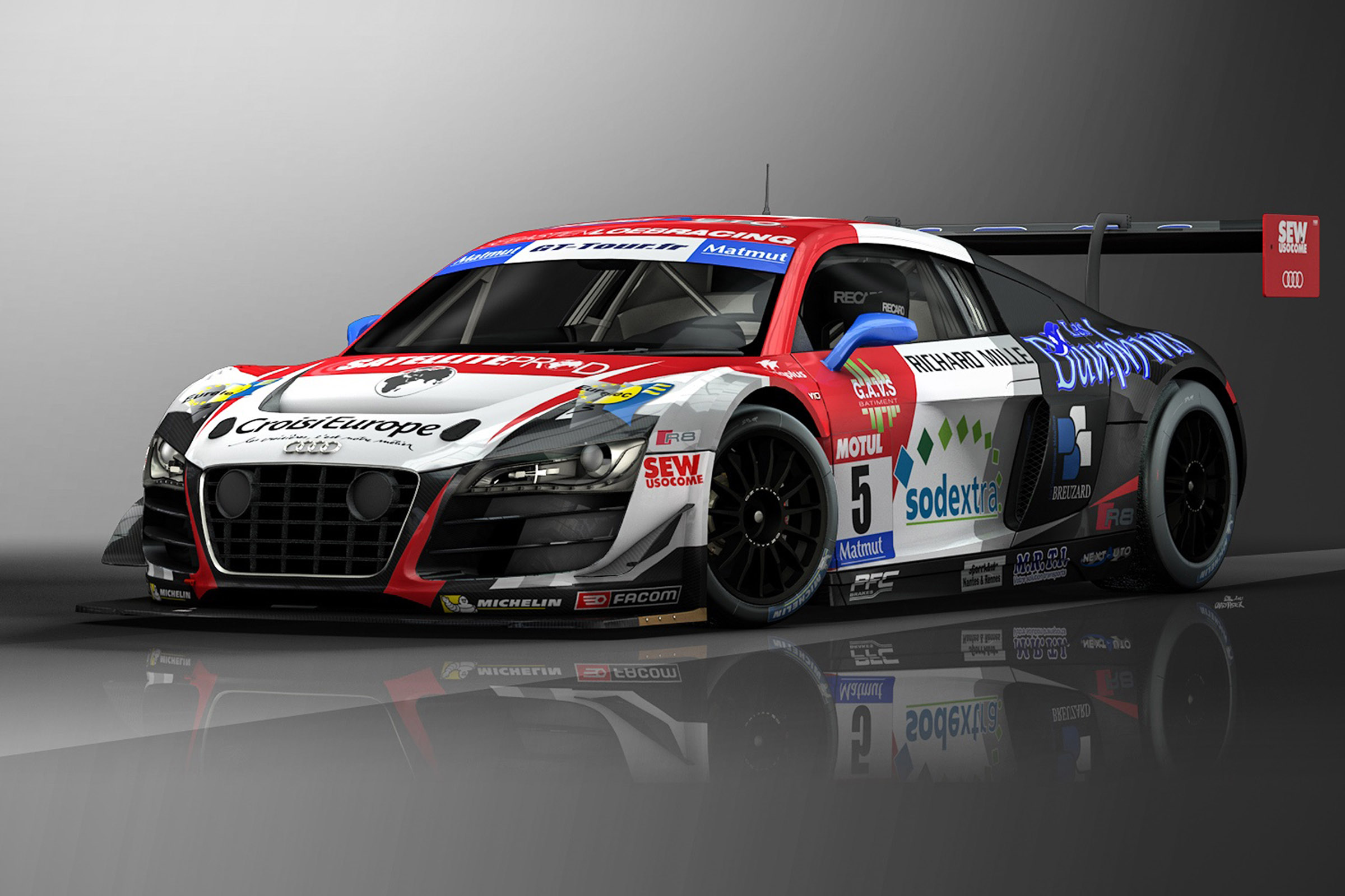 2015 Audi R8 Lms Ultra Picture 01