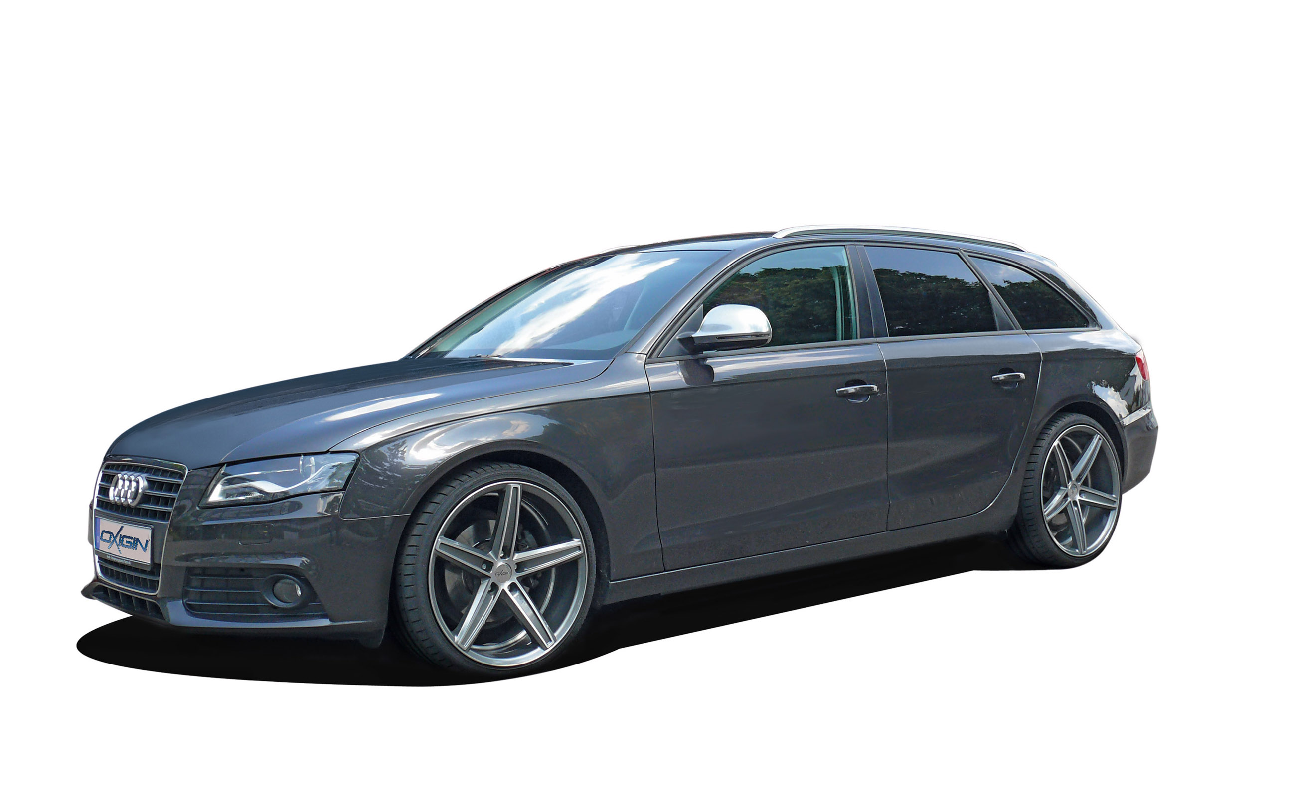 Oxigin Audi A4 Avant With Ox18 Concave In Graphite Full