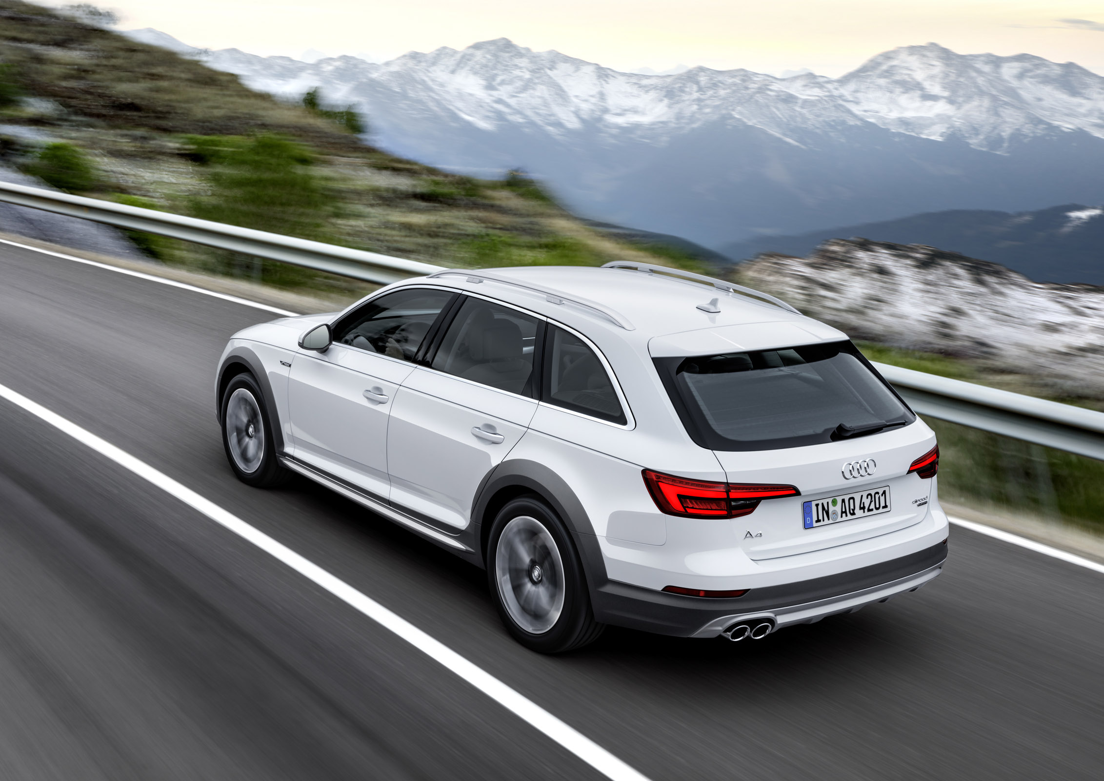 Perfect panion in Any Situation the new Audi A4 allroad quattro