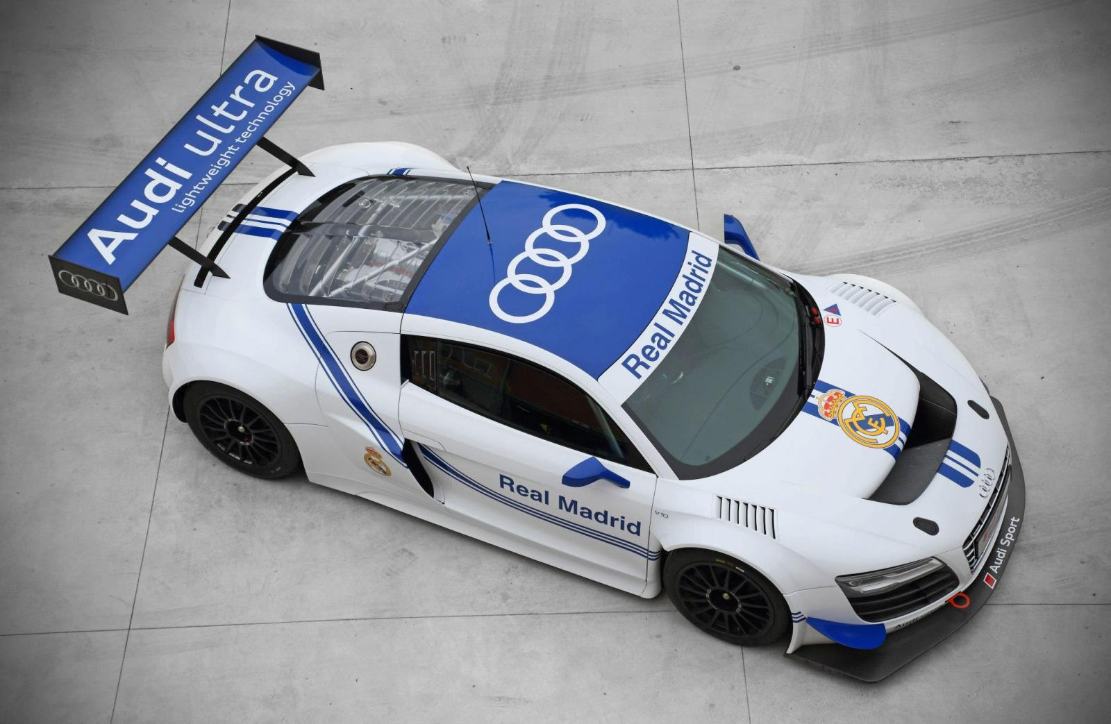 audi r8 lms ultra real madrid edition 09 Audi R8 LMS Ultra Real Madrid Edition