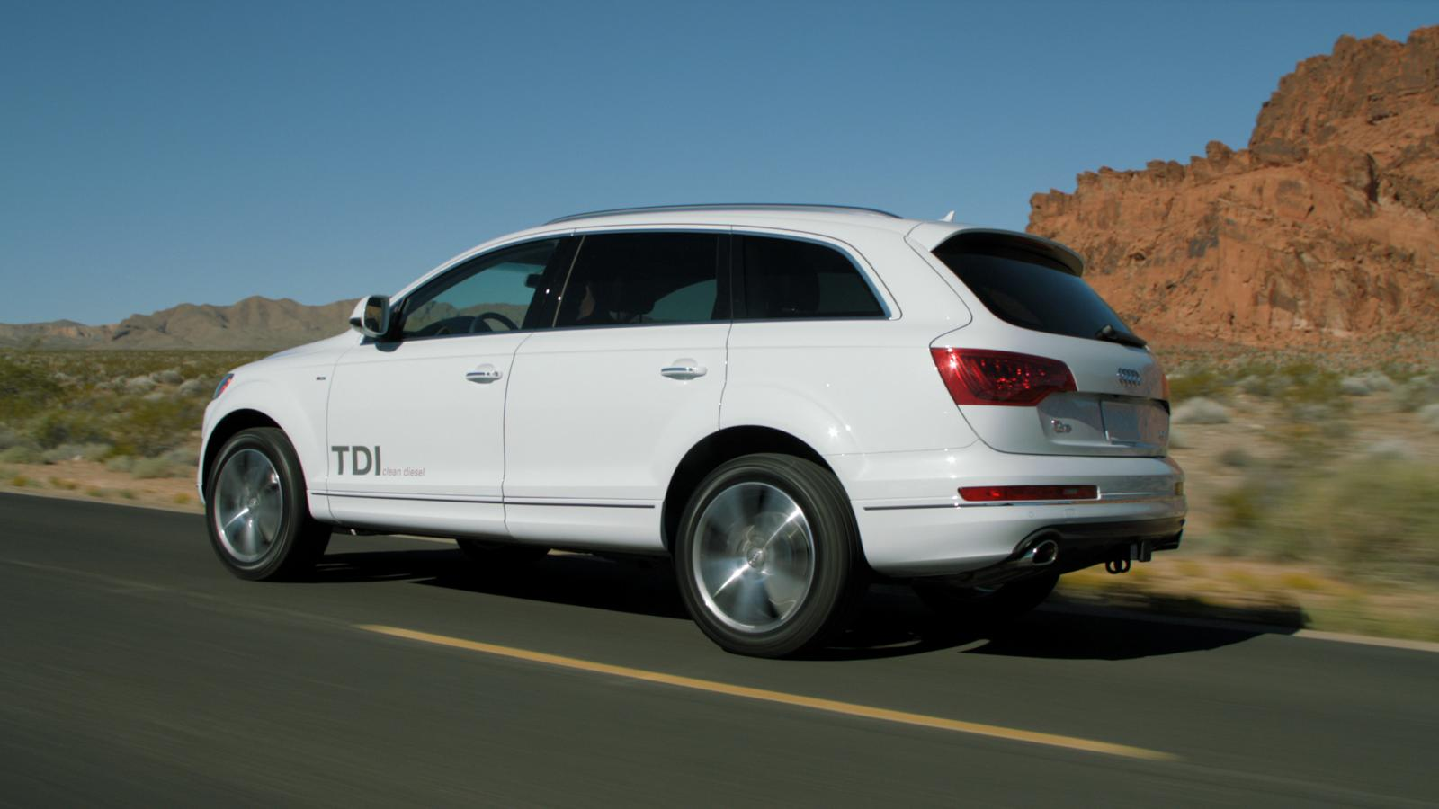 q7 Audi to introduce four new TDI clean diesel models to the U.S. Market at the L.A. Auto Show