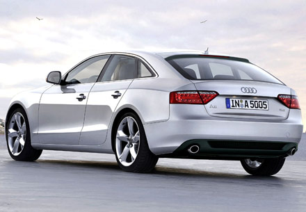 audi a5 sportback 2012 Audi A5 Sportback, Audi R4: Future models illustrated