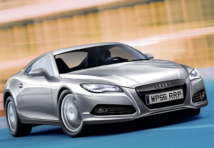 Audi a5 sportback audi r4 future models illustrated