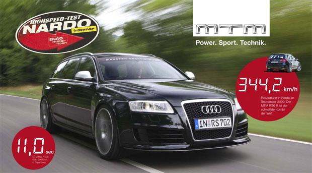 f3d1e830a3rdors6 MTM Audi RS6 Avant goes 214 mph, proves wagons uber alles!