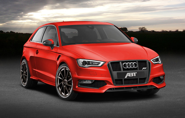 "ABT 2013 Audi AS3 651 When ""3"" becomes a magic number: The new ABT AS3"