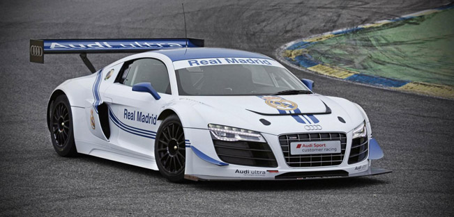 Audi R8 LMS Ultra Real Madrid Edition 02 Audi R8 LMS Ultra Real Madrid Edition