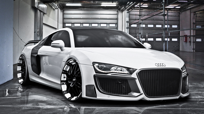 REGULA TUNING Audi R8 01 REGULA TUNING Audi R8 with Grandiose Bodykit