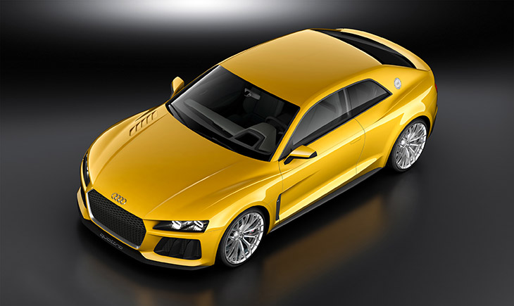 Audi Sport Quattro Concept Front Angle Audi Sport Quattro Concept Turns The Clock Forwards Thirty Years in Frankfurt