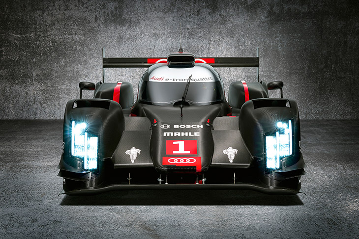Audi R18 e tron laser light Audi R18 e Tron Quattro With Laser Light