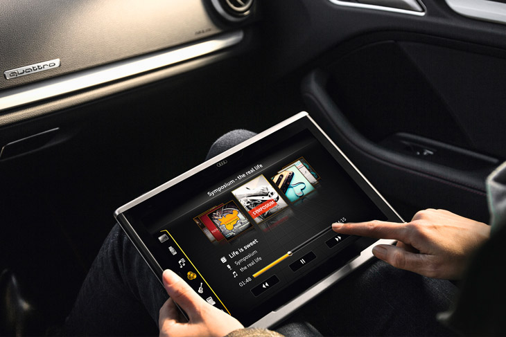 Audi Tablet An In Car Entertainment In Your Palm
