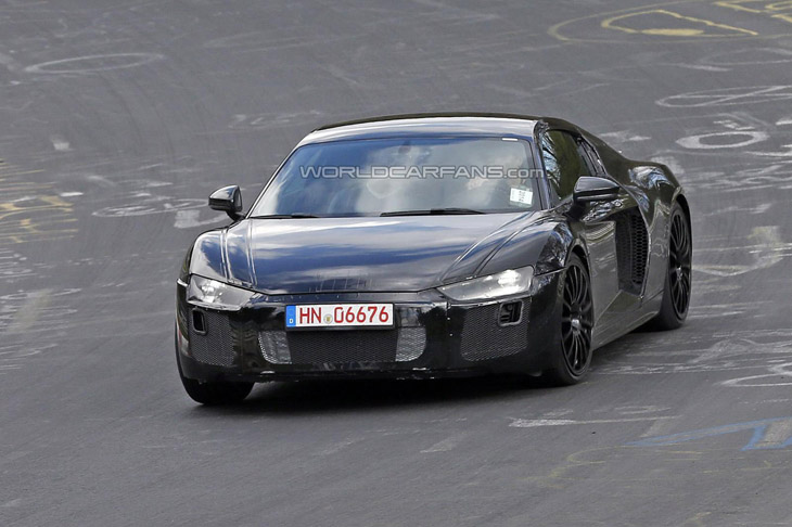 2015 Audi R8 spy photo 01 2015 Audi R8 [spy photos]
