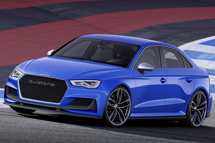 Audi A3 Clubsport Quattro Concept Latest Audi News