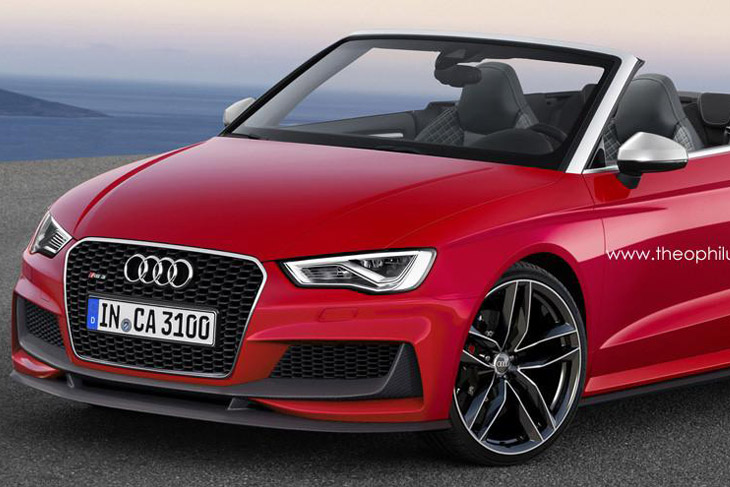 Audi RS3 Cabriolet render t1 Audi RS3 Cabriolet [render]