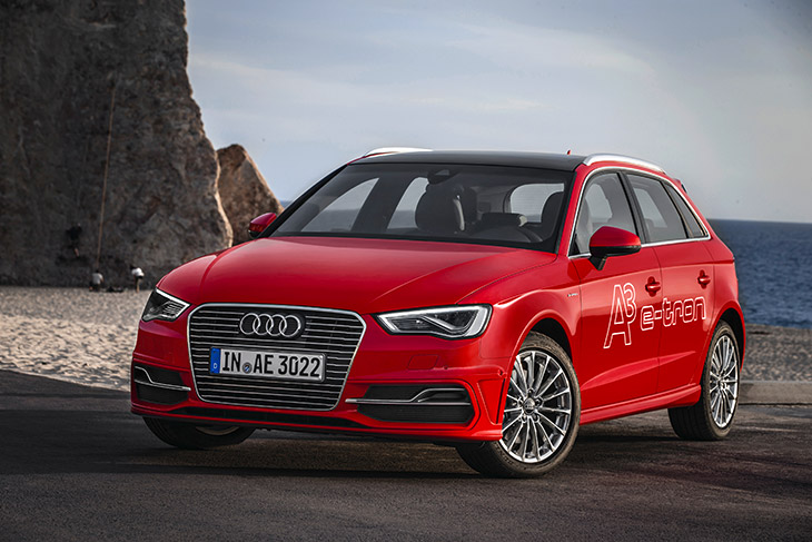Audi A3 Sportback e tron Front Angle eCar Award for Audi A3 Sportback e tron [VIDEO]