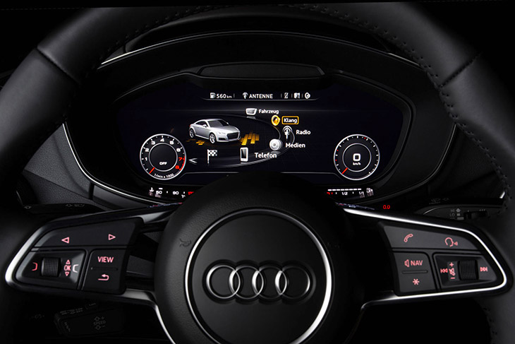 Audi TT 2015 interior Sound Taken to New Dimensions in Audi TT