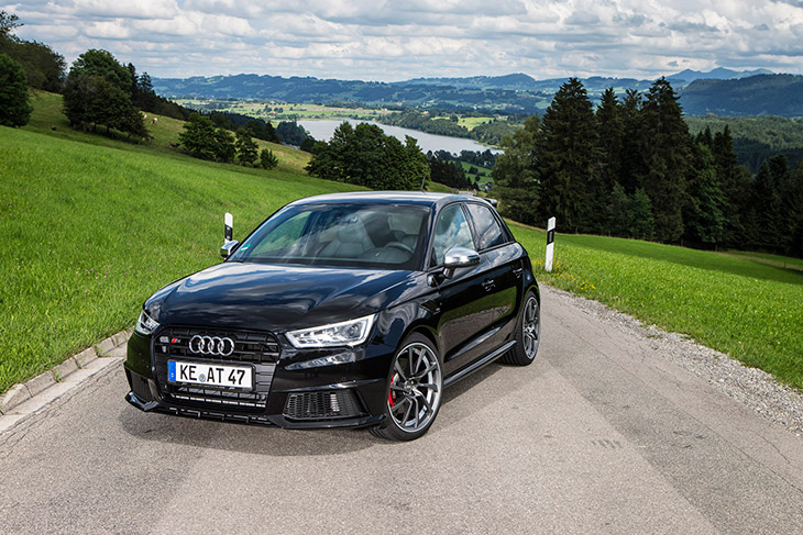 ABT Audi S1 2014 Front Angle Sporty, Agile, With 310 hp – ABT Tunes the Audi S1