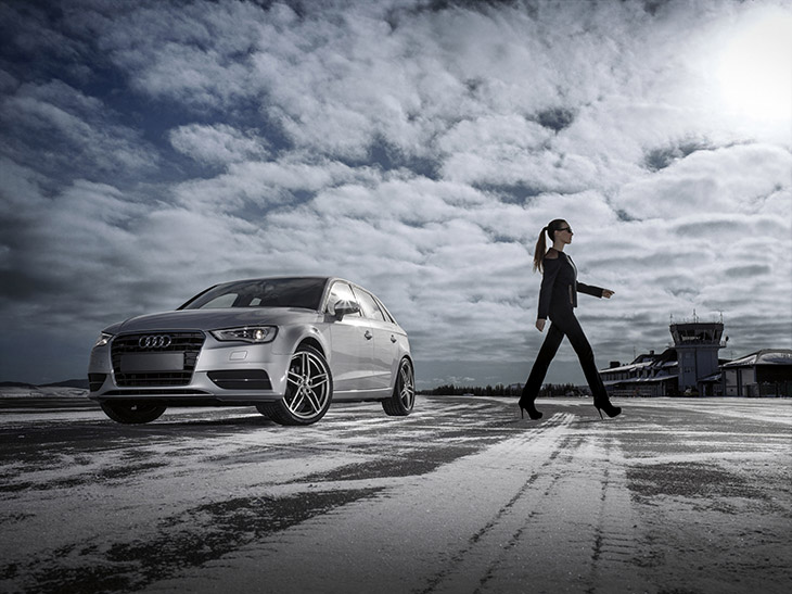 AEZ Audi A3 TDI 2014 Front The Premium Brand for Special Cars Pioneering Design for Cars from Audi – The AEZ Genua!