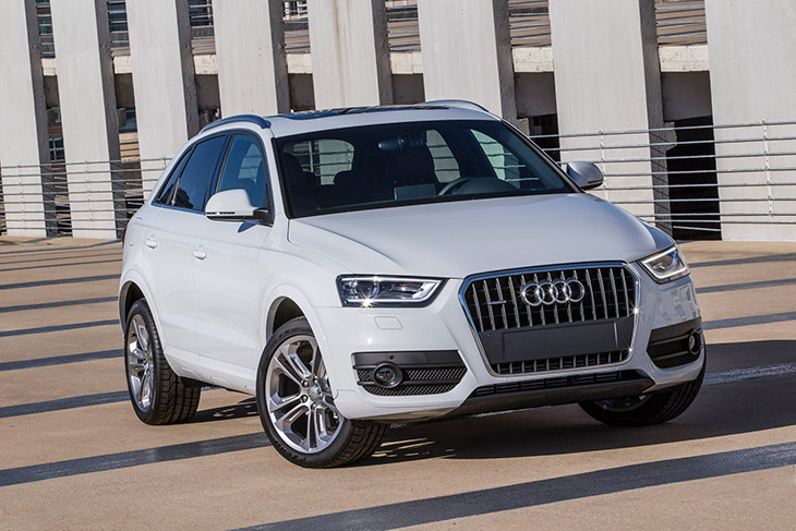 Audi Q3 2015 Front Angle Audi Announces Pricing for all new 2015 Audi Q3 Crossover