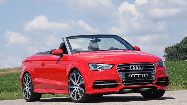 MTM Audi S3 2.0 TFSI Quattro 2014 Front Angle MTM S3 2.0 TFSI Quattro: Adds Value at The Wheel and on The Road