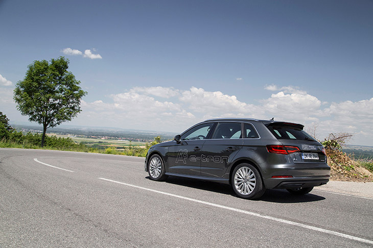 Audi A3 Sportback e Tron Awards for Audi in July and August