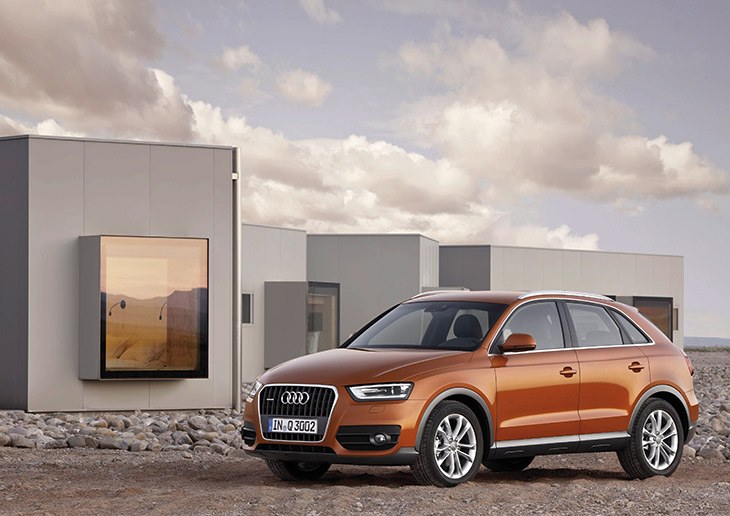 Audi Q3 Front AUDI AG: Sales Target for 2014 Raised to 1.7 million