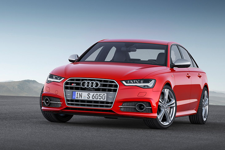 Audi S6 2015 Front Fresh Power for an Established Winner – The New Audi A6 and A6 Avant