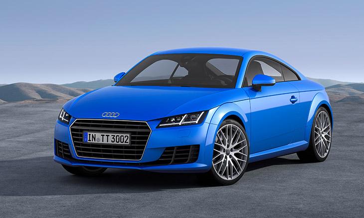 Audi TT 2015 Front Angle Awards for Audi in December