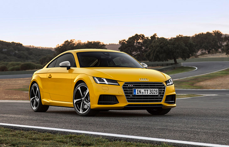 Audi TTS Coupe 2015 Front Angle Emotion Powered by Design and Technology – The New Audi TT and TTS [VIDEO]