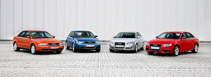 20 years of Audi A4 at Ingolstadt plant Production jubilee: 20 years of Audi A4 at Ingolstadt Plant