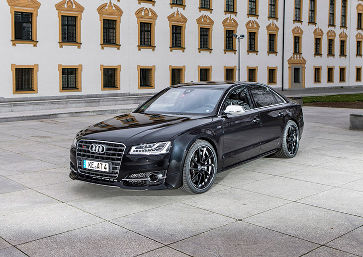 ABT Audi S8 2014 Front Angle Racing Limo – ABT POWER S Accelerates Audi S8 at 100 kph in 3.6 secs