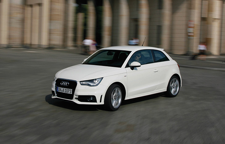 "Audi A1 2015 Front Angle The Intelligent Car Fleet: ""Audi Shared Fleet"" Takes on The German Capital"