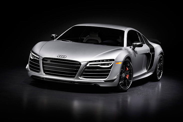 Audi R8 Competition 2015 Front Angle Limited Edition Audi R8 Competition to Debut at Los Angeles Auto Show