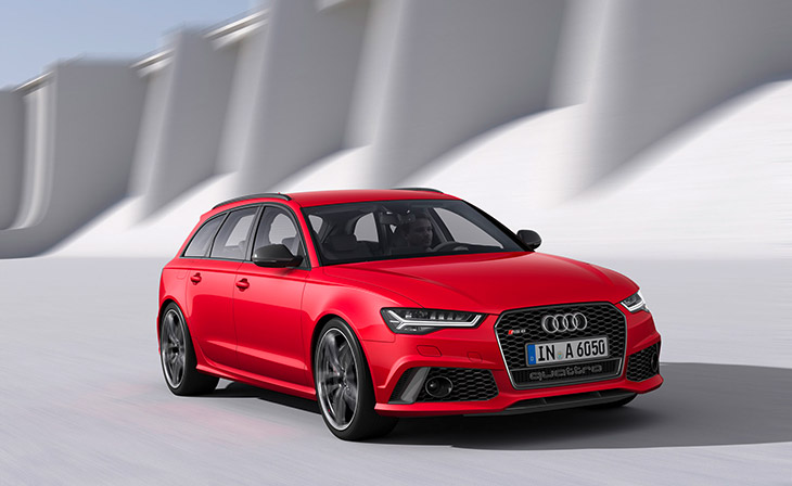 Audi RS 6 Avant 2015 Front Angle The New Audi RS 6 Avant