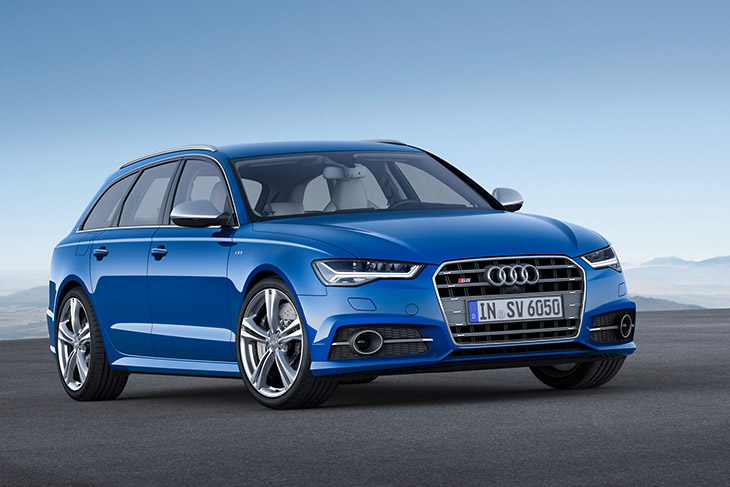 Audi S6 Avant 2015 Front Angle The New Audi S6 and S6 Avant