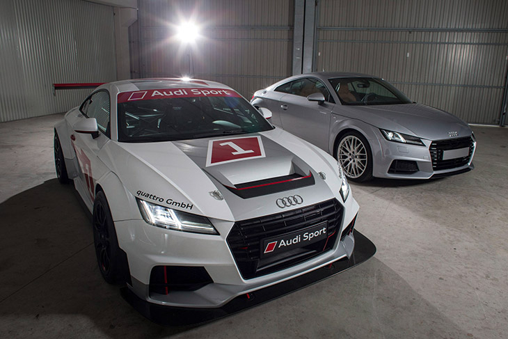 Audi Sport TT Cup 2015 Front Angle Audi to Launch Racing Series for The New TT