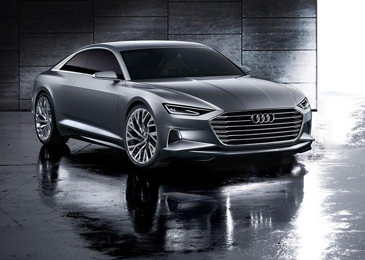 Audi Prologue Concept 2015 Front Angle Audi Prologue Concept [VIDEO]