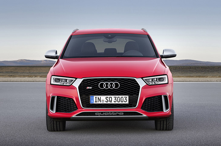 Audi RS Q3 2015 Front The New Audi Q3 and RS Q3 – Even Better Dressed for Success