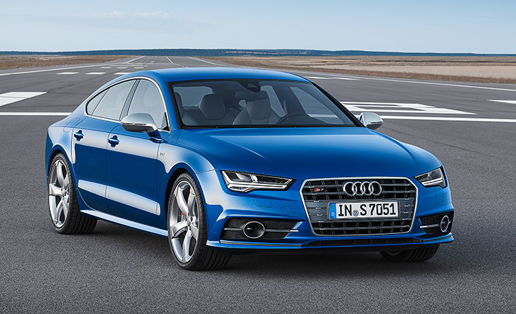 Audi S7 2015 Front Angle 2016 Audi A6 and A7 model lines make U.S. debut at Los Angeles Auto Show