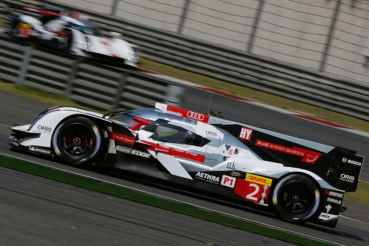 Audi Scores 22 Points in Battle for WEC Title Audi Scores 22 Points in Battle for WEC Title in China