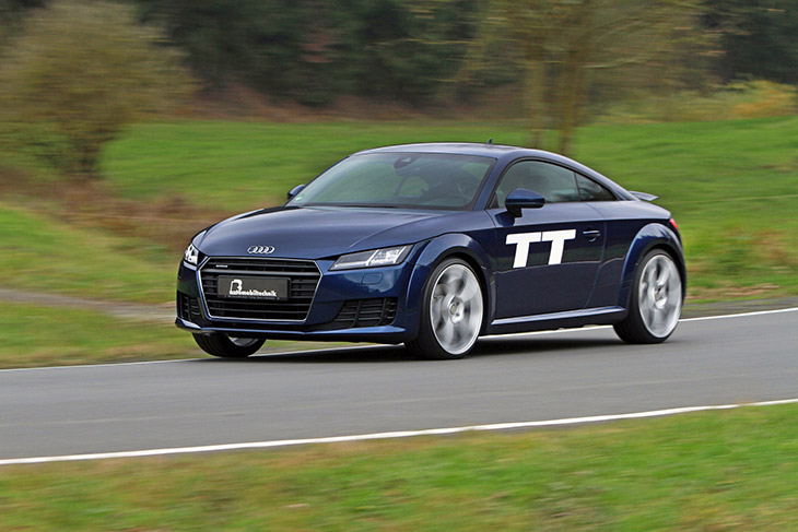 BB Audi TT 8S 2014 Front Angle Audi TT: Pole Position for B&B