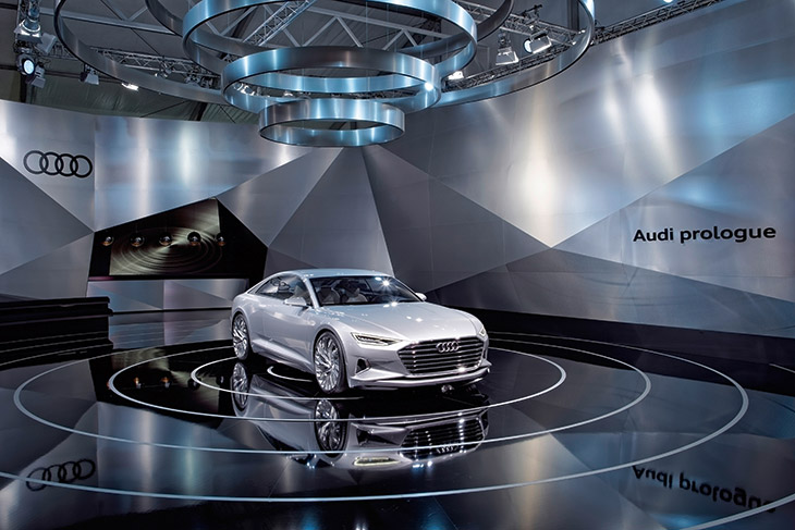 2015 Audi Prologue Concept The force within: Audi prologue at Design Miami