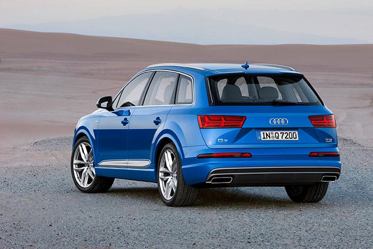 2016 Audi Q7 Rear Angle