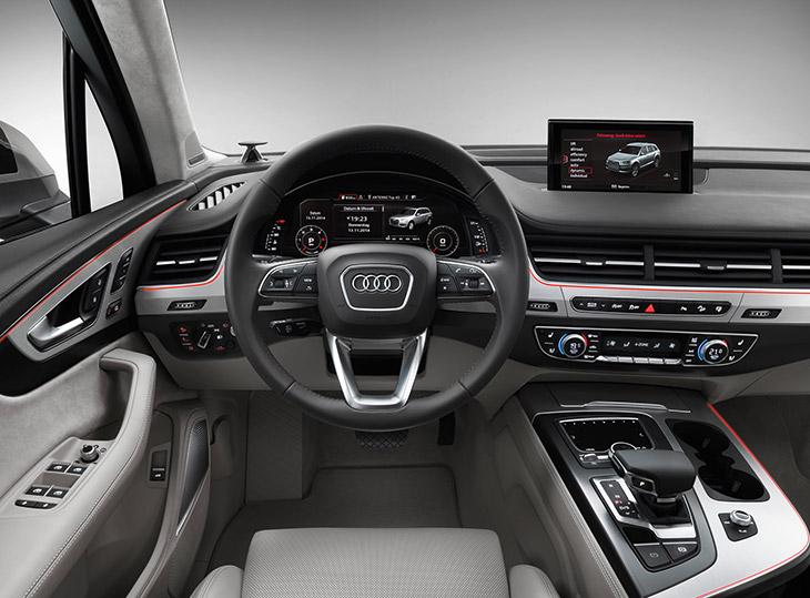 2016 Audi Q7 Display
