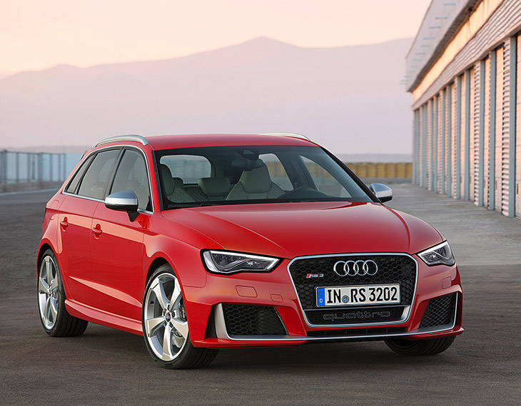 Audi RS3 Sportback 2015 Front Angle The New Audi RS3 Sportback