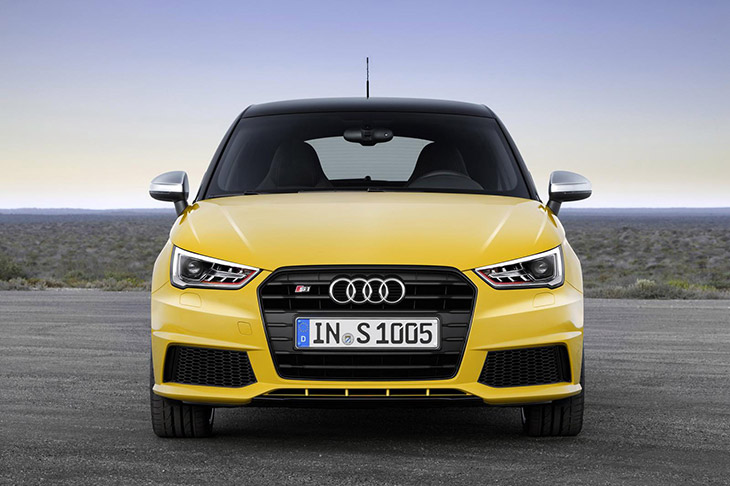 audi s1 sportback 2014 Front Auto Bild Sports Cars of The Year 2014   Audi S1 and Audi RS 4 Avant