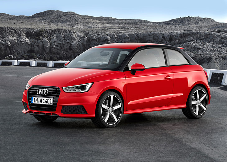 2015 Audi A1 Front Angle Two Wins for Audi in Best Cars 2015