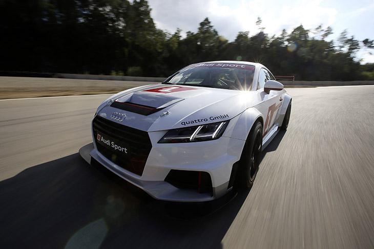 Audi Sport TT Cup 2015 Front Angle Audi Sport TT Cup Field Confirmed