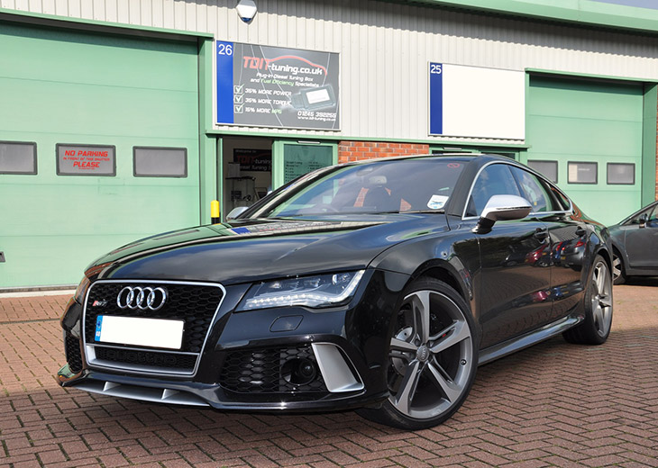 TDI Tuning Audi RS7 Front Angle More Power from TDI Tuning